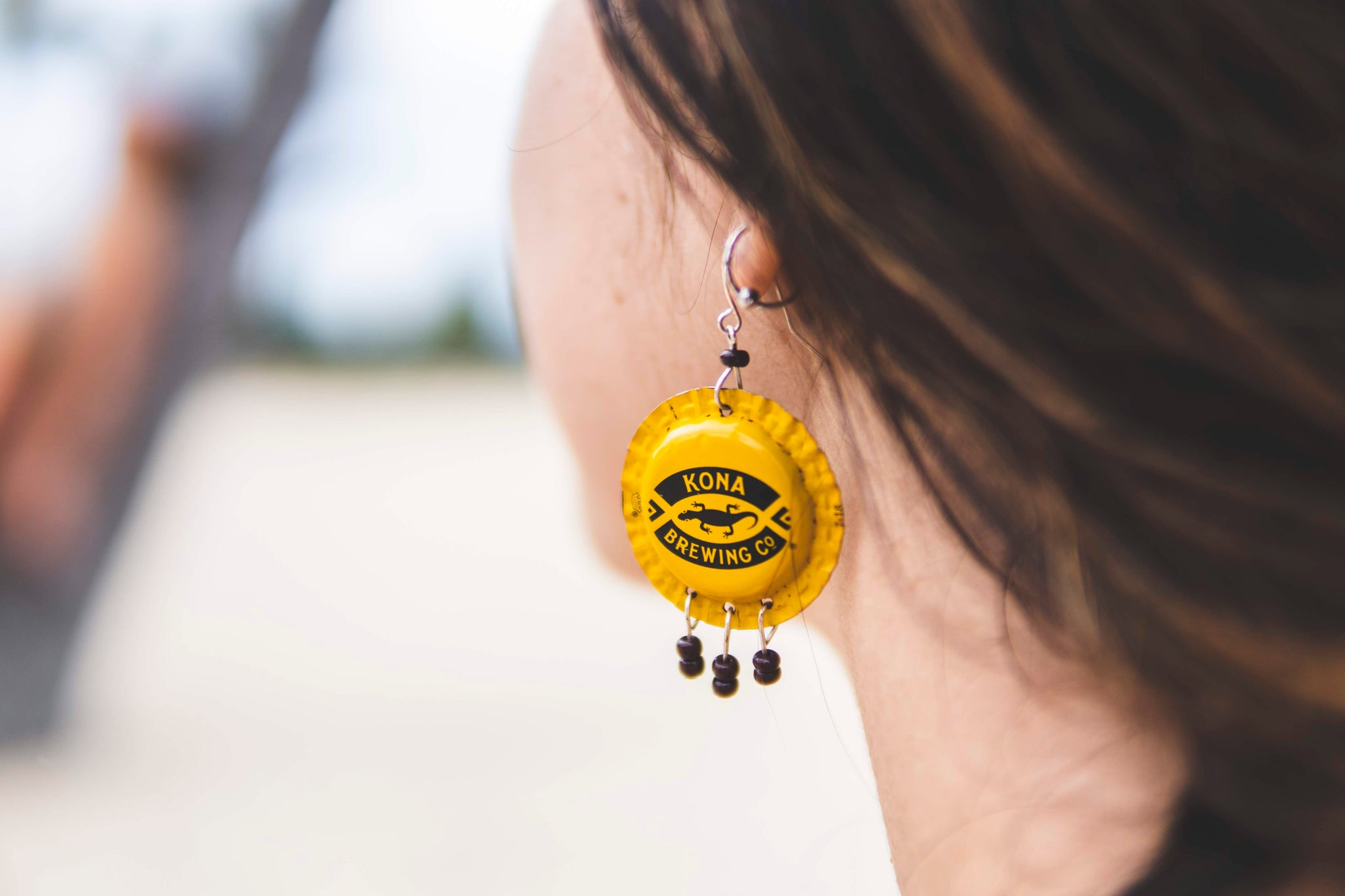 Hand made, recycled Beerrings are now available on our site!