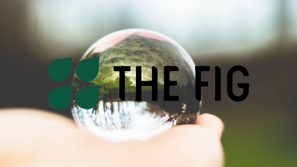 The Future Is Good logo overlaid on an image of a crystal ball