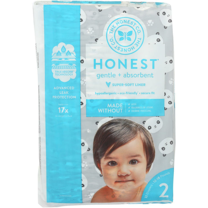 Diapers Size 2 - Pandas  - 32 Count
