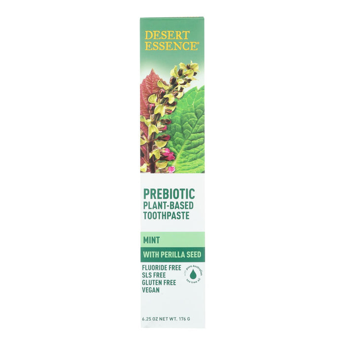 Prebiotic Plant Based Toothpaste - Mint - 6.25 Oz