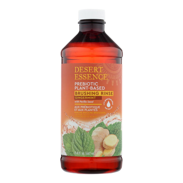 Prebiotic Plant Based Brushing Rinse - Gingermint - 15.8 Fz