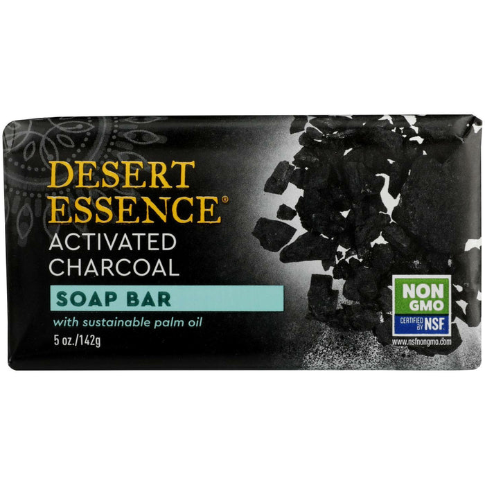 Activated Charcoal Soap Bar - 5 Oz