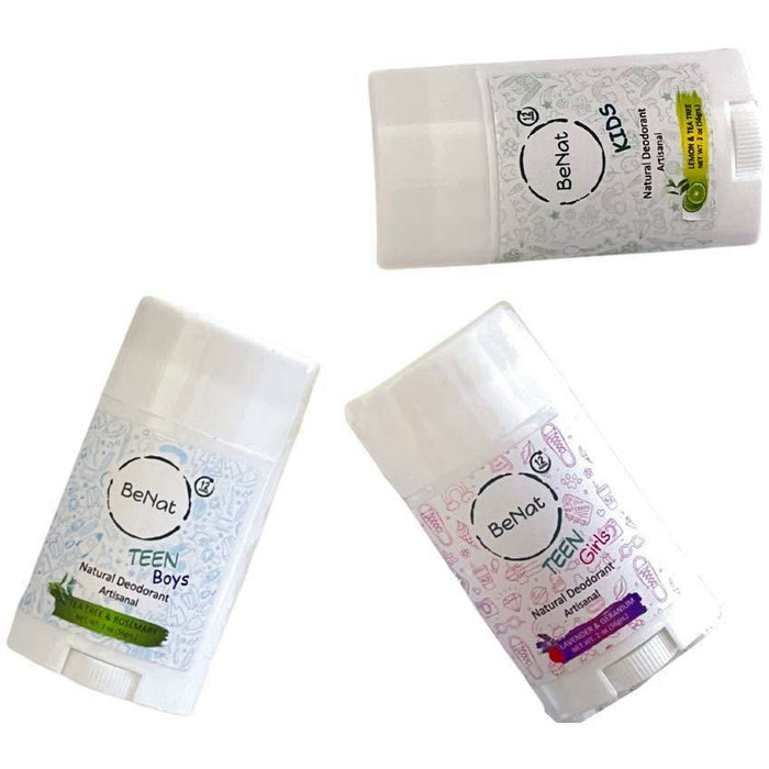 All-Natural Deodorants for Kids & Teens