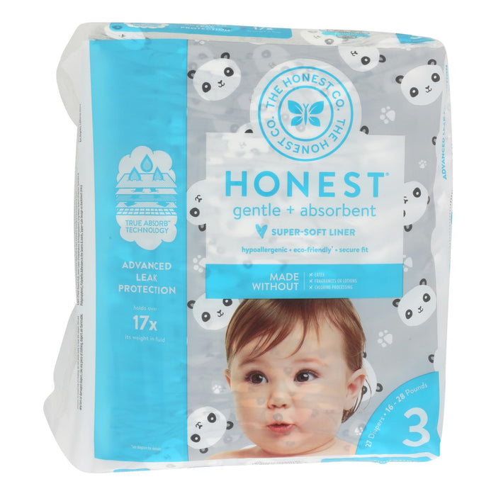 Diapers Size 3 - Pandas - 27 Count