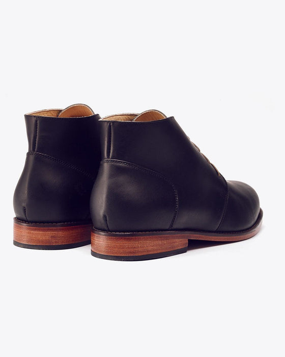 Emilio Chukka Boot Black