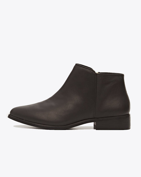 Lana Ankle Boot Black/Black
