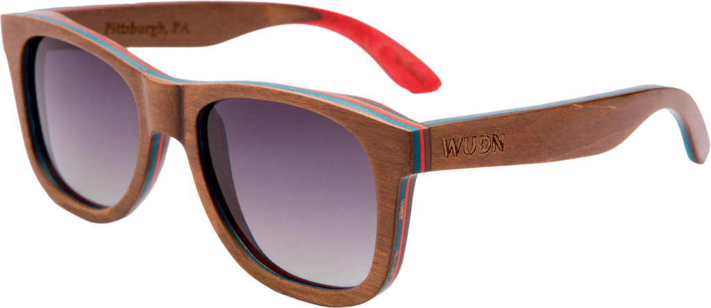Recycled Skatedeck Jetty Ledge Sunglasses by WUDN