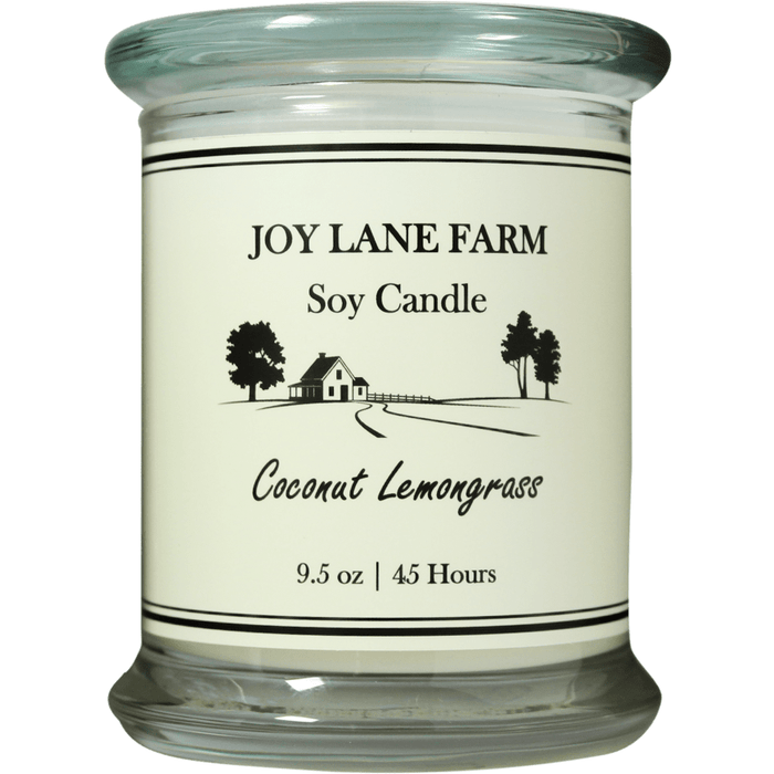 Coconut Lemongrass Soy Candle