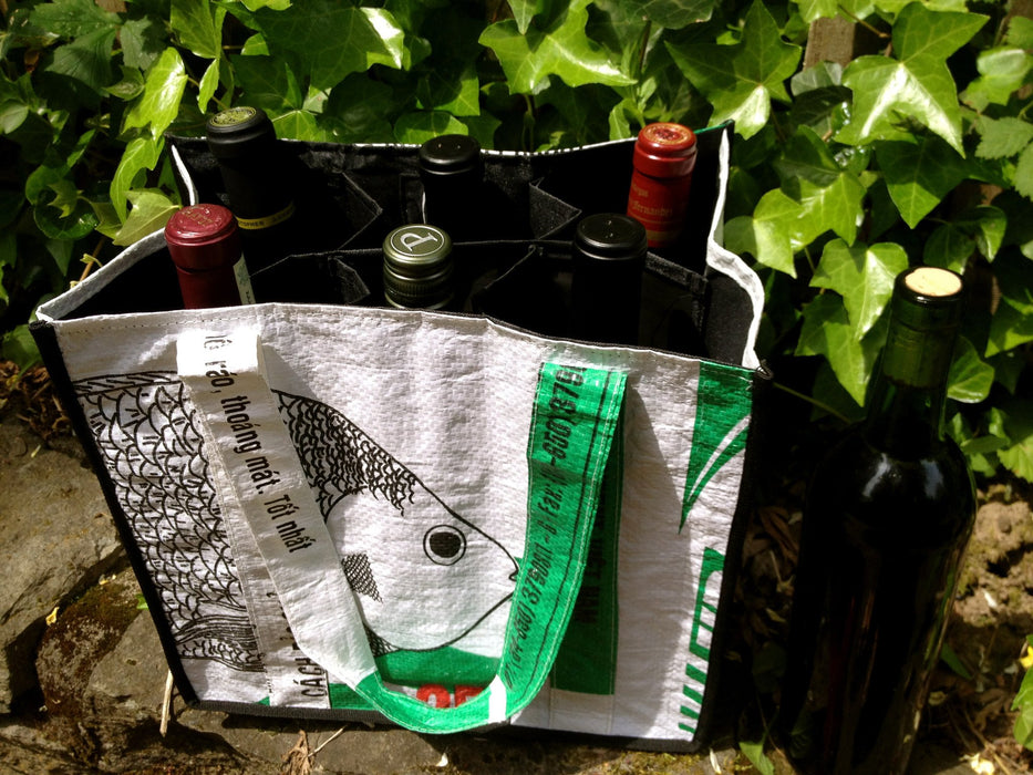 6-Bottle Wine Tote