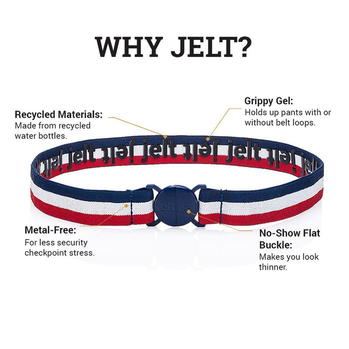 The USA Stripe Elastic Belt