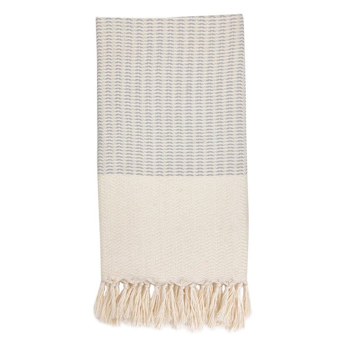 Plush Wavy Turkish Towel