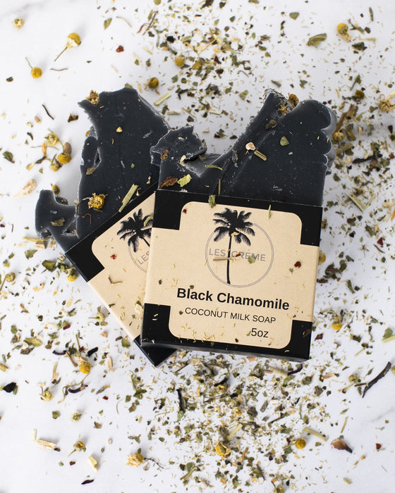 Black Chamomile Coconut Milk Soap
