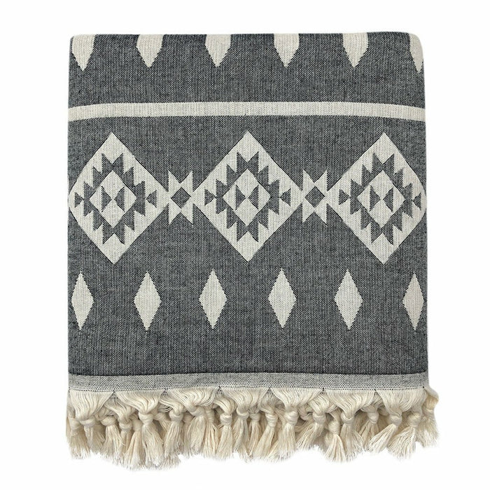 Tribal Turkish Throw Blanket
