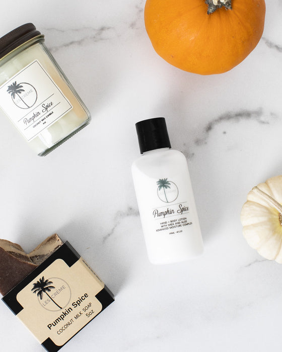 Pumpkin spice lotion