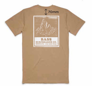 Bass Surf Supply 'Shark' Tee
