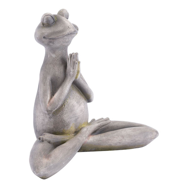 Yoga Frog Gray | Uniquely Living