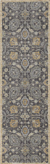 "63"" X 91"" X 0.'5"" Taupe Wool Rug"