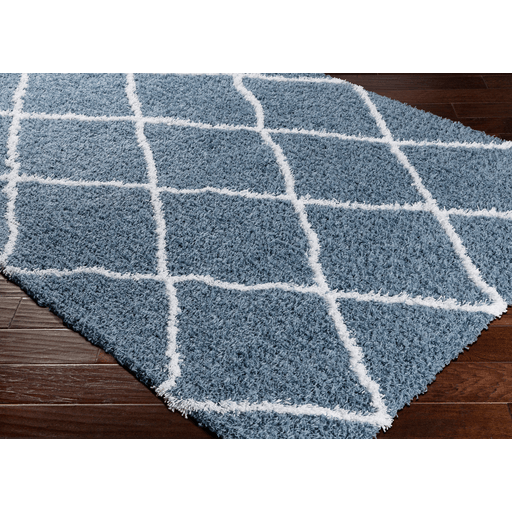 Urban Shag Area Rug in Demin | Uniquely Living