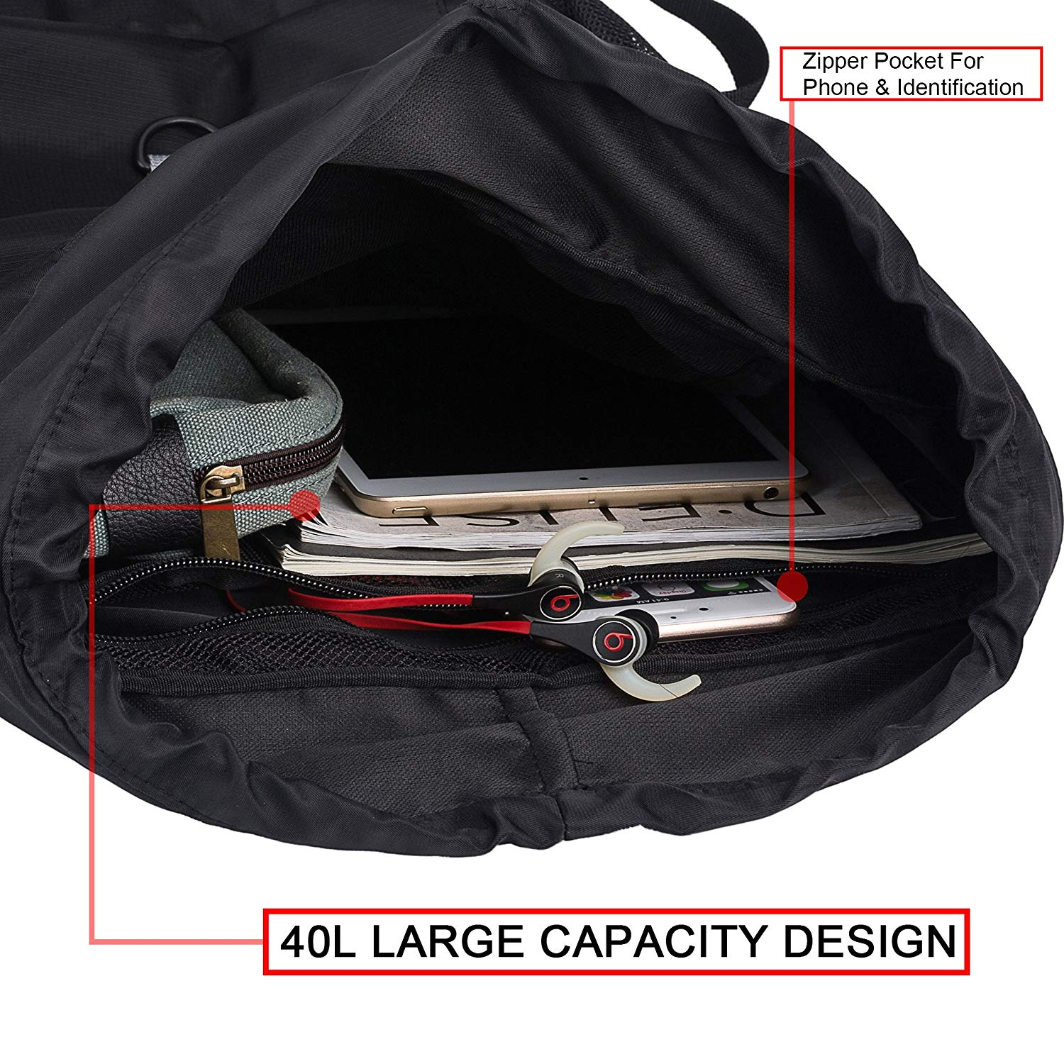 ef129f8e4e Drawstring Gym Sports Backpack for men and women Shop Cheap Price ...