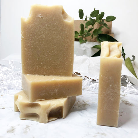 All Natural Unscented Goat Milk & Honey Bar