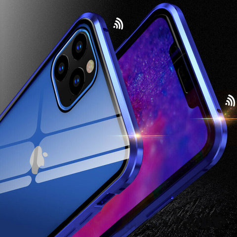 360 Degree Magnetic Case With Front Glass For iPhone 11 Pro Max/iPhone 11 Pro/iPhone 11