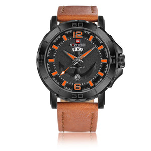 ANCHOR de NAVIFORCE - Montre homme Marron clair Montres MEN'S CORNER