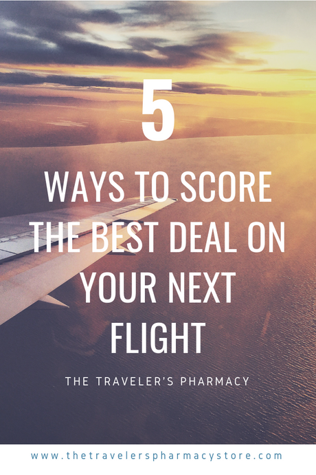 5 Ways to Score the Best Deal on Your Next Flight