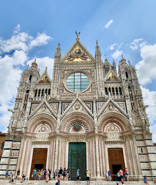 Exterior of the Cathedral of Siena