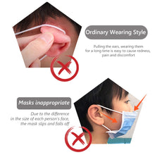 Load image into Gallery viewer, Silicone Face Mask Ear Saver Clip