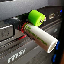 Load image into Gallery viewer, USB Battery NI-MH USB AA 1450MAH