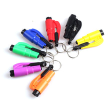 Load image into Gallery viewer, Multifunctional Car Mini Safety Hammer Escape Hammer Window Breaker Keychain