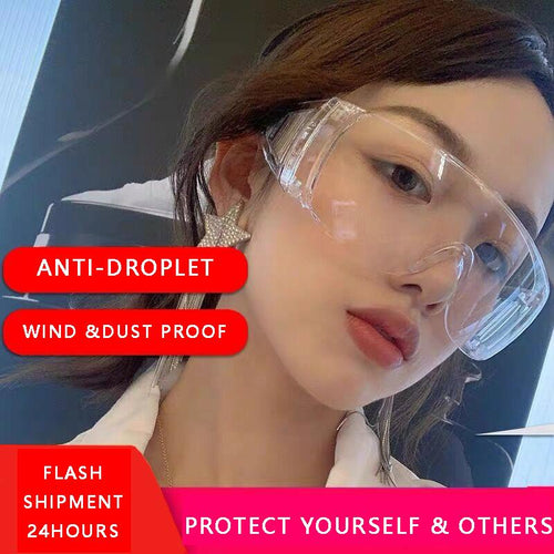 Anti Splash Dust Proof Goggles Full Protection Glasses Protective