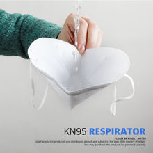 Load image into Gallery viewer, 5 Pcs KN95  Face Mask CE Certification Anti Influenza N95 Medical Mask