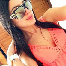Load image into Gallery viewer, Semi Rimless Sun Glasses Women Sunglasses Luxury Brand Star Style Eyewears