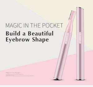 Eyebrow Scissors Hair Trimmer Mini Portable Women Body Shaver