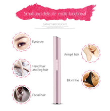 Load image into Gallery viewer, Eyebrow Scissors Hair Trimmer Mini Portable Women Body Shaver