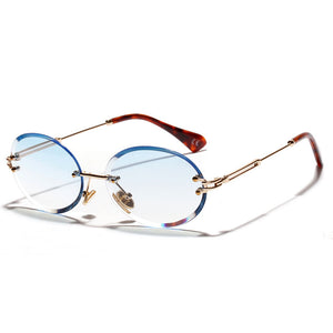 Rimless Sun Glasses