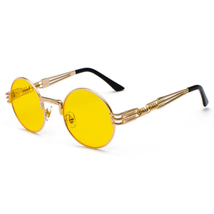 Retro Red yellow Glasses