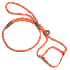 Mendota Dog Walker Martingale Lead Orange