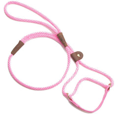 Mendota Dog Walker Martingale Lead Hot Pink