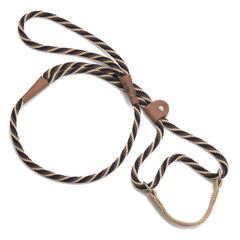 Mendota Dog Walker Martingale Lead Mocha