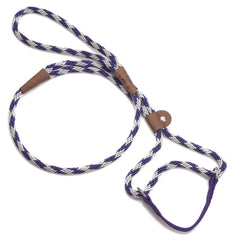 Mendota Dog Walker Martingale Lead Diamond Amethyst