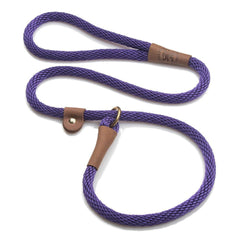 Mendota British Style Slip Lead Purple