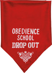 Obedience School Drop Out Pet Bandana