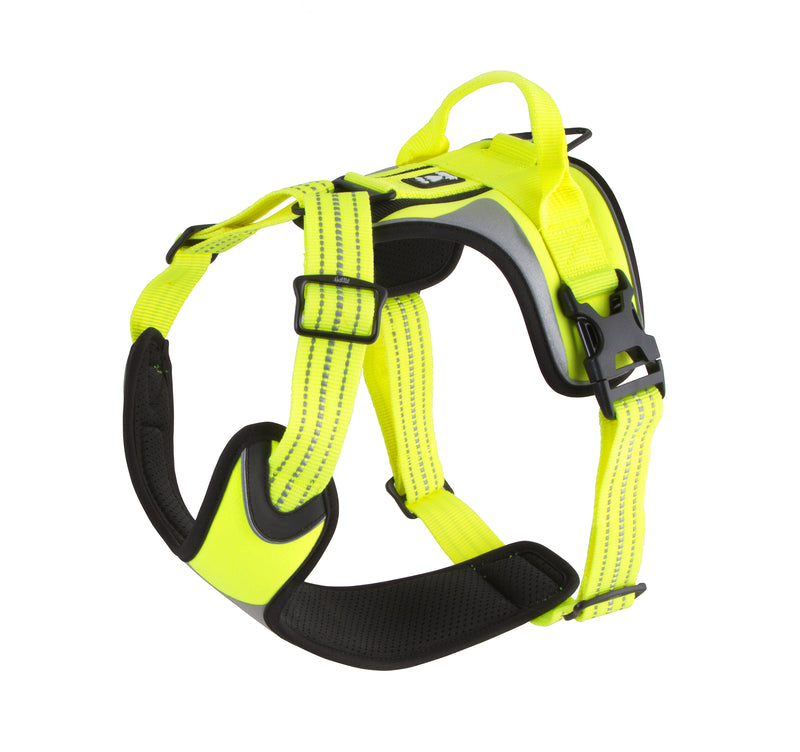 Hurtta Active Dazzle Harness Hi-Viz Yellow