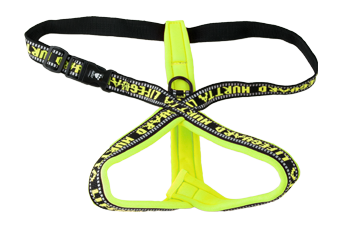 Hurtta Padded Y-Harness Orange