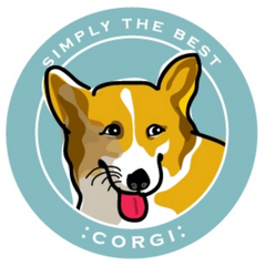 Simply the Best Car Magnet Pembroke Welsh Corgi