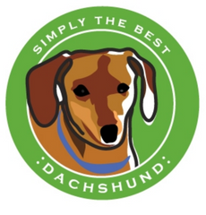 Simply the Best Car Magnet Dachshund (Smooth Red)