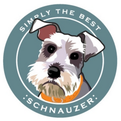Simply the Best Car Magnet Schnauzer