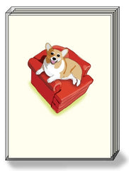 DogPride Box Note Cards German Shepherd
